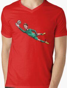 Diving Save Mens V-Neck T-Shirt
