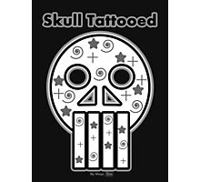 Skull Tattooed (Limited Edition) Photographic Print
