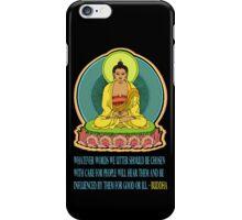 BUDDHA BLESSINGS iPhone Case/Skin