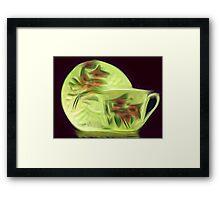 Coffee Art Framed Print