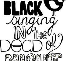 Blackbird Singing in the Dead of Night by Pip Gerard