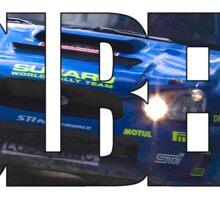Petter Solberg - World Rally champion Sticker
