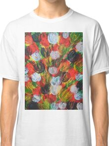 Explosion of Tulips Classic T-Shirt