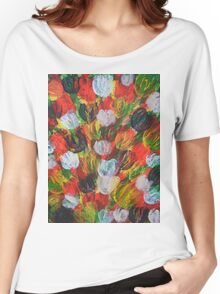 Explosion of Tulips Women's Relaxed Fit T-Shirt