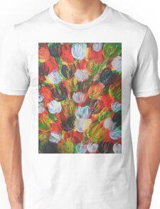 Explosion of Tulips Unisex T-Shirt