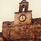 The Clock Tower of Parrocchia San Nicola in LIZZANO by Rebecca Dru