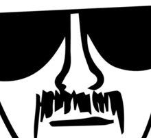 Breaking bad Heisenberg tshirt design Sticker