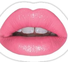 pastel lips xoxo Sticker
