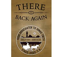 There and Back Again - Delivery Services Photographic Print