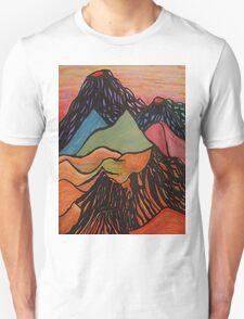 Cratered Landscape Unisex T-Shirt