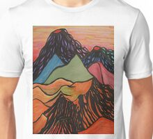Cratered Landscape Unisex T-Shirt