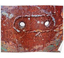 zorro's mask Poster