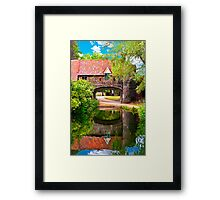 Pulls Ferry Norwich Framed Print