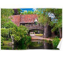 Pulls Ferry Norwich in landscape Poster
