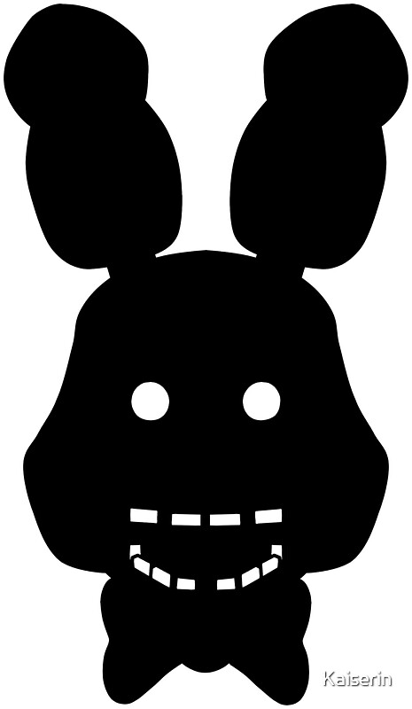 Quot Five Nights At Freddy S Fnaf Shadow Bonnie Quot Stickers