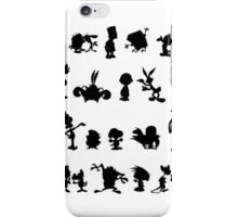 Cartoon Characters iPhone Case/Skin
