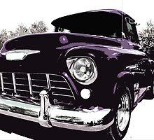 Chevy popart by ARTistCyberello