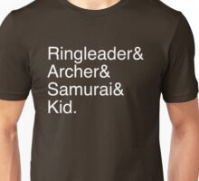 Ringleader, Archer, Samurai, Kid - The Walking Dead Unisex T-Shirt
