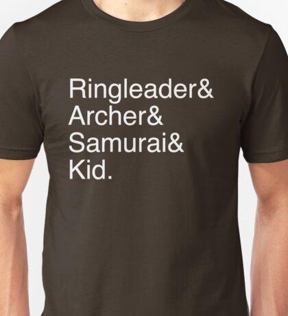Ringleader, Archer, Samurai, Kid - The Walking Dead Unisex T-Shirt