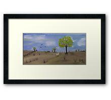 Prairie Land Framed Print