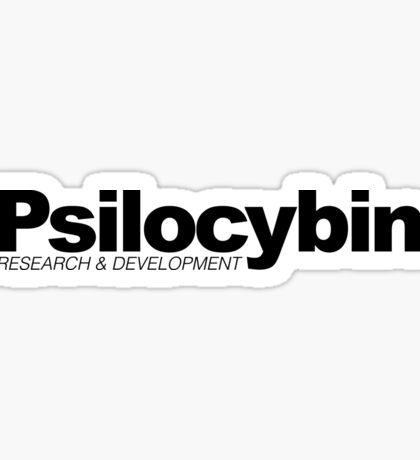 Psilocybin Research & Development (Shroom Chemical) Sticker