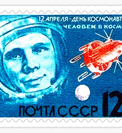 Soviet Union CCCP Space Program 1964 Sticker