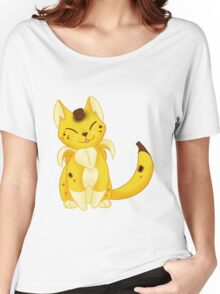 FRUIT CATS: Spotted Banyanya Women's Relaxed Fit T-Shirt