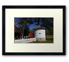 Landis Valley Smokehouse II Framed Print