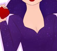 Bow Down to the Evil Queen Sticker