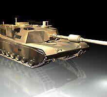 Abrams M1 by Gabriel Forgottenangel