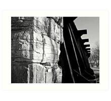 Train Trestle Bridge Art Print
