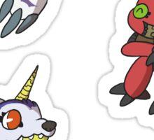 Digi-Trio 3 Sticker