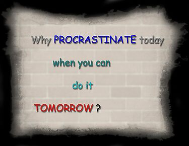 Procrastination by Graham Prentice