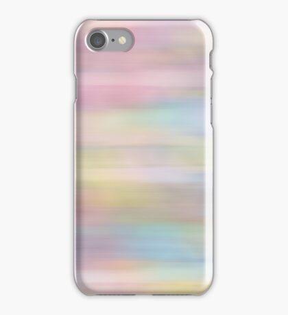 Pastel - Pink - Blue - Yellow iPhone Case/Skin
