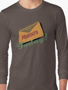 Mentats - A better future, Today!  - Fallout Long Sleeve T-Shirt