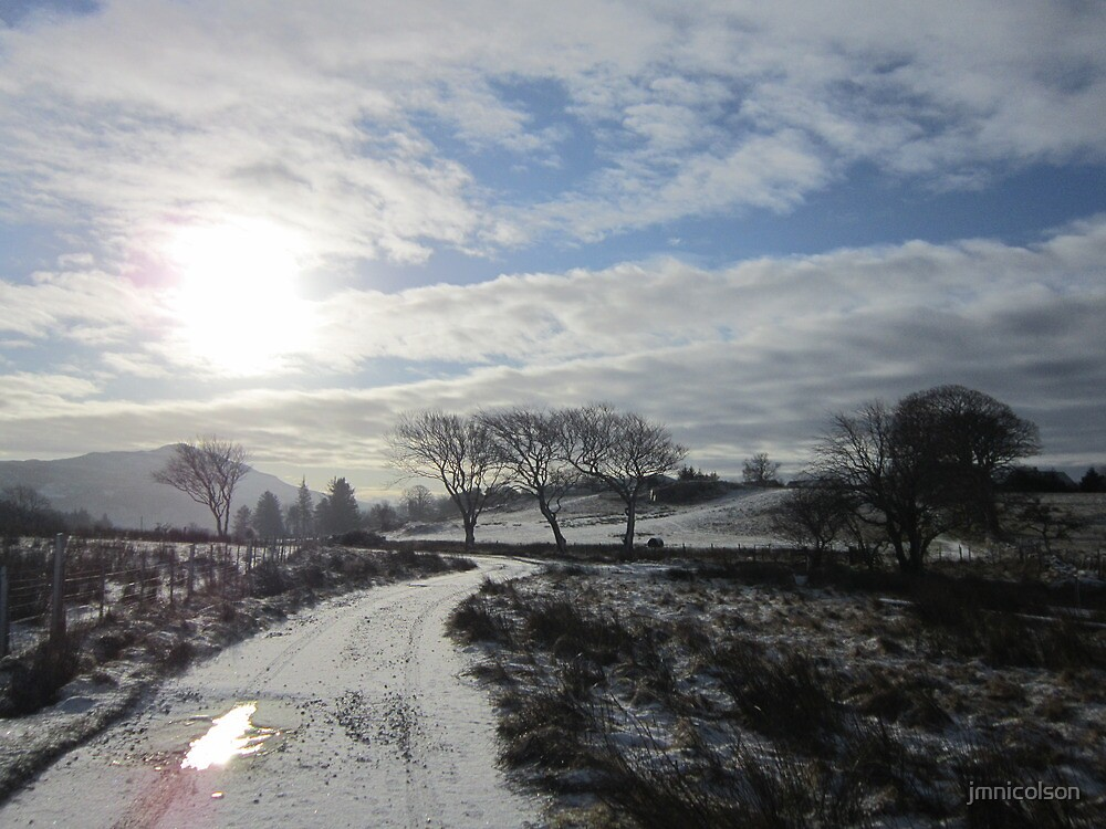 winter morning by jmnicolson