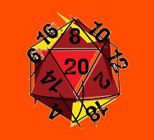 Abstracted D20 Unisex T-Shirt