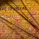 Made in Nepal on Wall Bhaktapur by SerenaB