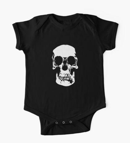 221b Baker Street Skull One Piece - Short Sleeve