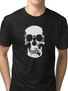 221b Baker Street Skull Tri-blend T-Shirt