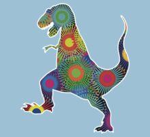 T. Rex Fireworks Kids Tee