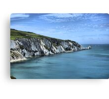 Isle Of Wight Needles Canvas Print