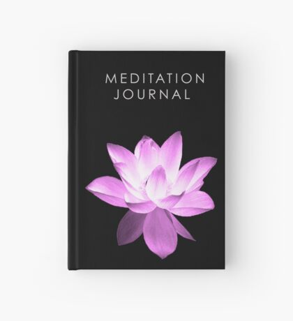 7 DAY'S OF SUMMER-YOGA ZEN RANGE- PINK LOTUS JOURNAL Hardcover Journal