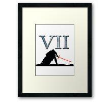 Star Wars VII Framed Print