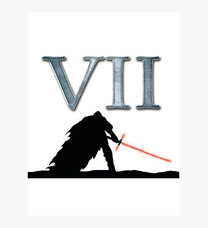 Star Wars VII Photographic Print