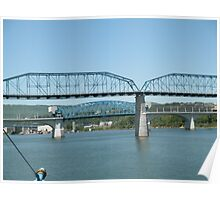 Walnut Street Bridge Tennessee Poster