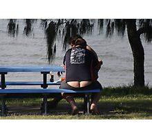 BEACH BUM Photographic Print
