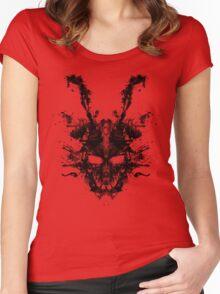 Imaginary Inkblot- Donnie Darko Shirt Women's Fitted Scoop T-Shirt