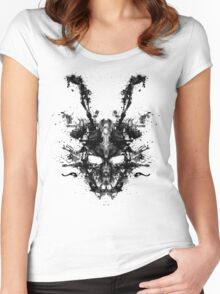 Imaginary Inkblot- Donnie Darko Shirt Women's Fitted Scoop T-Shirt