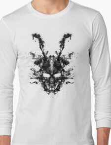 Imaginary Inkblot- Donnie Darko Shirt Long Sleeve T-Shirt